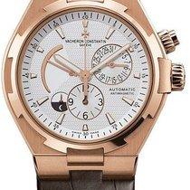 Vacheron Constantin 47450/000r-9404 Overseas Dual Time Rose Watch