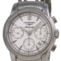 Longines Saint-Imier Automatic Chronograph Steel Mens Watch...