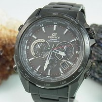 Casio Edifice Wave Ceptor Solar Funk Black Herrenuhr Eqw-m600d...