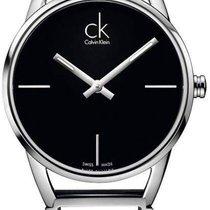 ck Calvin Klein Damenuhr Stately K3G23121