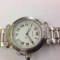 Cartier Pasha 38mm automatic stainless steel