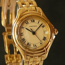 Cartier Panthere Cougar lady quartz watch, 18K YG case &...