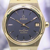 Eterna Kontiki Royal Quartz 18K Gold extrem rar Sammler Luxus