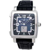 Ulysse Nardin Quadrato Dual Time Automatic Men's Watch –...