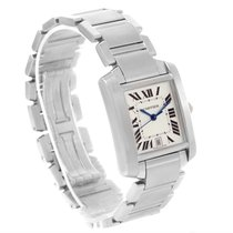 Cartier Tank Francaise Automatic Silver Dial Large Watch W51002q3