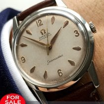 Omega Serviced Omega Seamaster Automatic with Linen dial...
