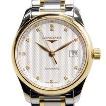 Longines Master 18 K Yellow Gold White Automatic L2.257.5.77.7
