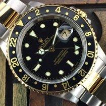 Rolex GMT Master II Steel & Gold