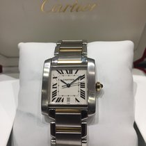 Cartier Tank Française   Steel /Gold Big Size ref: 2302