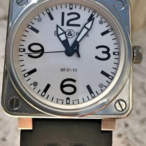 Bell & Ross BR 01-92 Rare Silver Dial
