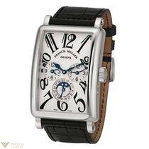 Franck Muller Conquistador Cortez 18K White Gold Men's Watch