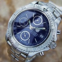 TAG Heuer Link Large Mens Chronograph Swiss Made Stainless St...
