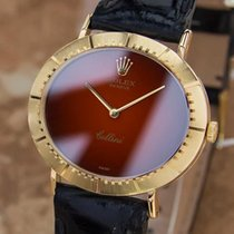 Rolex Cellini 18K Solid Gold 1970s Mechanical Hand Wind Mens...