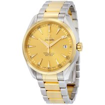 Omega Seamaster Aqua Terra Steel and 18k Yellow Gold Automatic...