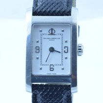 Baume & Mercier Damen Uhr 22mm Hampton Quartz Stahl/stahl...