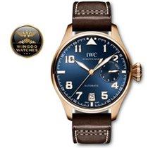 IWC - Big Pilot pink gold 18K blue dial Le Petit Prince