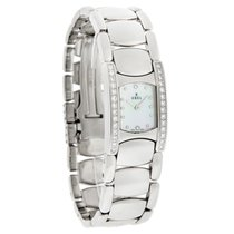 Ebel Beluga Manchette Ladies Diamond Swiss Quartz Watch...