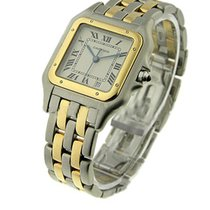 Cartier W25028B6 Mid Size Panther 2-Tone - 2 Tone with 2 Row...