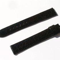 Chopard Croco Band Strap Black 17 Mm 95/120 New C17-07