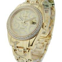 Rolex Unworn 81338 Mid Size Masterpiece with Diamond Bracelet...