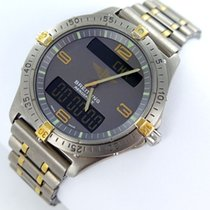 Breitling Aerospace Multifunktion F56062 Titan Gold Herrenuhr
