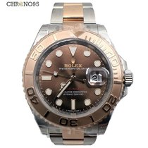 Rolex Yacht-Master 40 116621 Everose Two-Tone Chocolate Dial