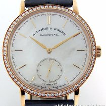 A. Lange & Söhne Saxonia 840.032 Ladies 37mm 18k Rose Gold...