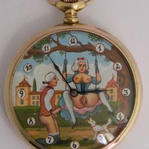 Girard Perregaux pocket watch with erotic painting circa 1910