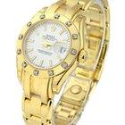 Rolex Unworn Lady's YG Masterpeice with 12 Diamond Bezel