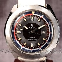 Lip Nautic Super Nautic-ski Super-compressor Vintage Dive Watch