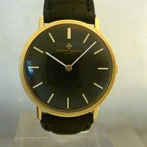 Vacheron Constantin vintage 1975 calatrava black dial REF 7811