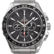 Omega Aqua Terra Chronograph GMT 231.10.44.52.06.001 44mm Grey...