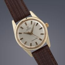 Omega Seamaster gold capped automatic watch