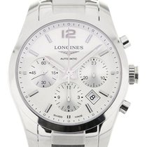 Longines Conquest Classic 41 Chronograph Steel