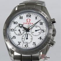 Omega Broad Arrow Olympic Collection Box Papers 3211.04.50