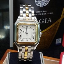 Cartier pantherer gold/steel