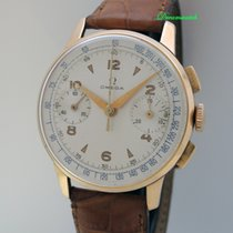Omega Chronograph Vintage Cal. 33.3 18k/750 Gold