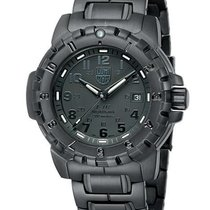 Luminox Mens EVO F-117 Nighthawk Blackout - Black Dial -...