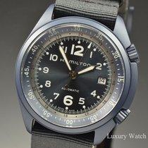 Hamilton Khaki Pilot Pioneer Automatic Blue Aluminum 41MM...