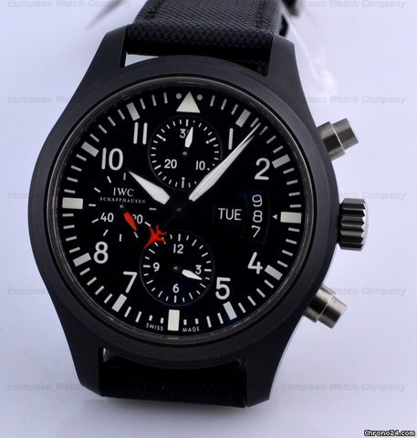 IWC Top Gun Ceramic   Pilot Chronograph NEW