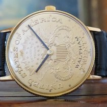 Waltham The 18K Solid Gold COIN WATCH for Future Investment