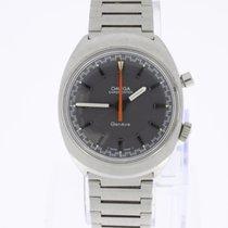 Omega Geneve Chronostop Vintage with steel bracelet