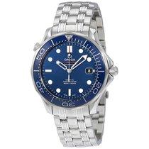 Omega Men's 21230412003001 Seamaster Diver Co-Axial Auto...