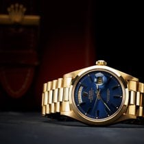 Rolex Daydate Blue dial