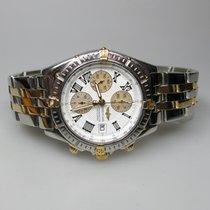 Breitling Crosswind Chronometre ref.B13355 Stahl/Gold