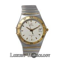 Omega Mint Unisex Constellation Full Bar 18K Yellow Gold