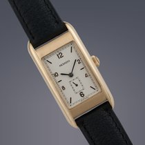 Movado 1881 18ct yellow gold manual watch