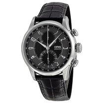 Oris Raid 2012 Chronograph GMT Automatic Black Dial Men's...