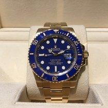 Rolex Submariner Blue Full Gold B&P
