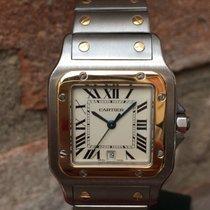 Cartier Santos de Cartier Galbée misura media unisex
